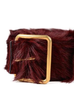Prada: belts online - Calf hair belt