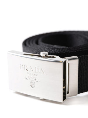 Prada: belts online - Classic web belt