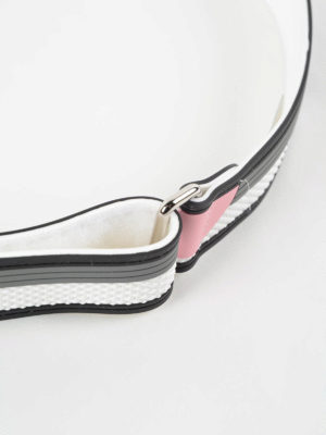 Prada: belts online - Floral rubber belt