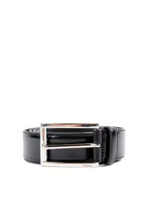 Prada: belts - Polished leather belt