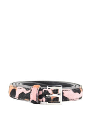 Prada: belts - Ponyhair belt