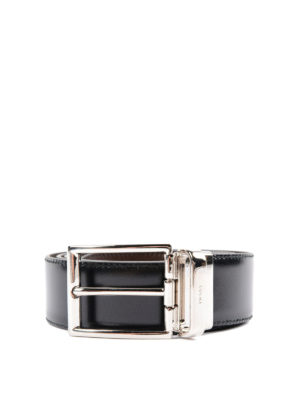 Prada: belts - Reversible leather belt