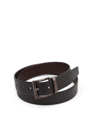 Prada: belts - Saffiano leather belt