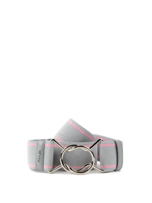 Prada: belts - Striped elasticated belt