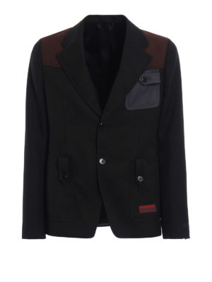 Prada: blazers - High-tech fabric blazer