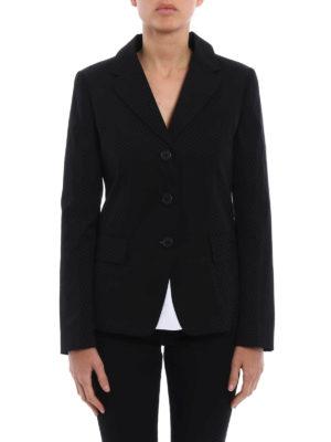 Prada: blazers online - Stretch poplin blazer