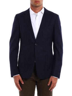 Prada: blazers online - Unstructured virgin wool blazer