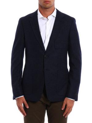 Prada: blazers online - Wool and cashmere blazer