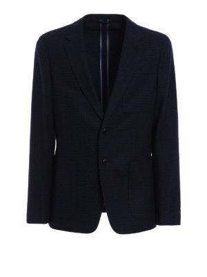 Prada: blazers - Wool and cashmere blazer