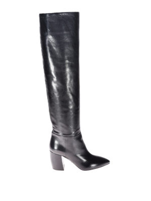 Prada: boots - Leather slip-on boots