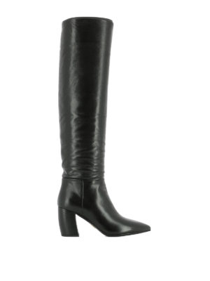 Prada: boots - Soft leather heeled boots