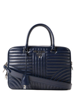 Prada: bowling bags - Quilted leather handbag