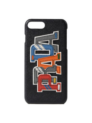 Prada: Cases & Covers - Multicolour character iPhone cover