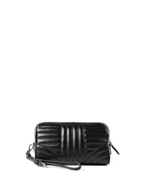 Prada: Cases & Covers online - Black soft quilted napa pouch