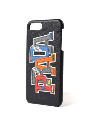 Prada: Cases & Covers online - Multicolour character iPhone cover