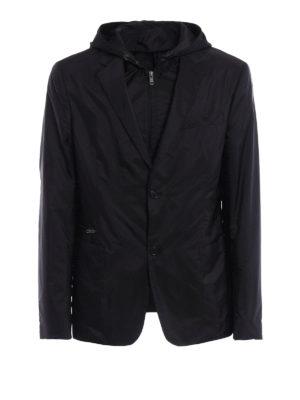 Prada: casual jackets - Blazer style nylon jacket