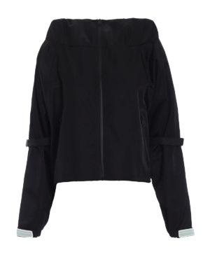 Prada: casual jackets - Gabardine nylon casual jacket