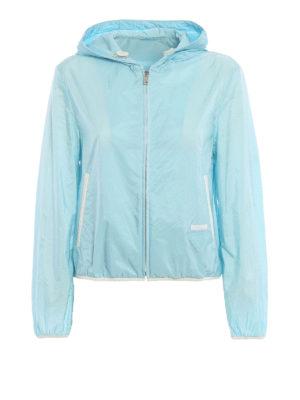 Prada: casual jackets - Lightweight nylon crop jacket