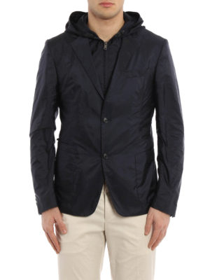 Prada: casual jackets online - Blazer style nylon jacket
