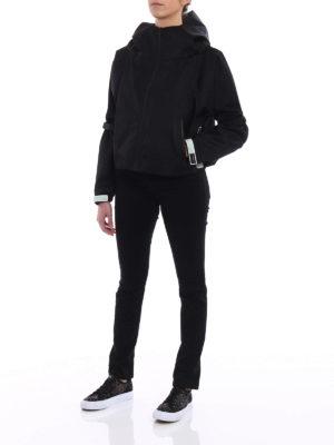 Prada: casual jackets online - Gabardine nylon casual jacket