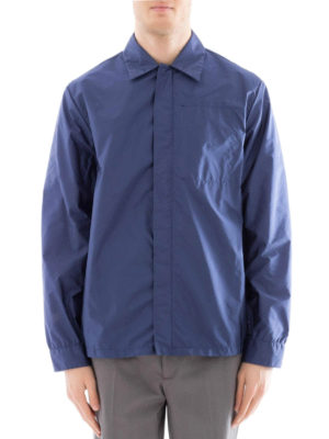 Prada: casual jackets online - Shirt style nylon casual jacket
