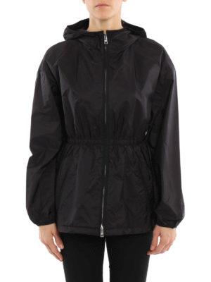 Prada: casual jackets online - Water resistant hooded jacket