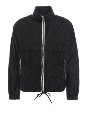 Prada: casual jackets - Semiglossy nylon jacket