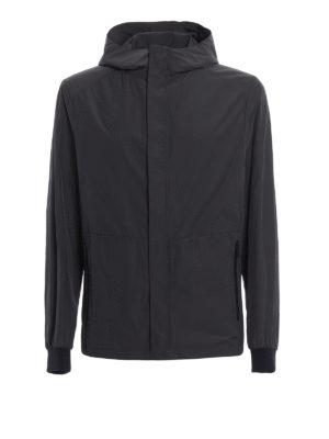 Prada: casual jackets - Shimmering technical fabric jacket
