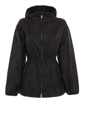 Prada: casual jackets - Water resistant hooded jacket