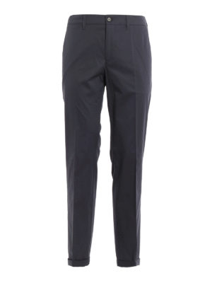 Prada: casual trousers - Cotton twill chino trousers