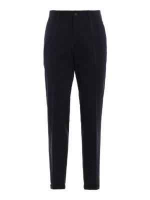 Prada: casual trousers - Gabardine Light cotton trousers