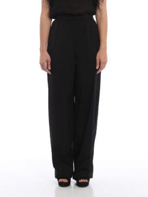 Prada: casual trousers online - Cotton poplin trousers