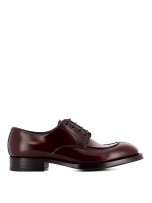 Prada: classic shoes - Glossy leather classic shoes