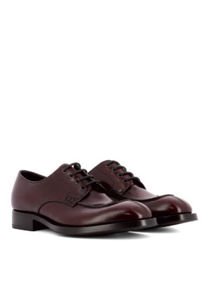 Prada: classic shoes online - Glossy leather classic shoes