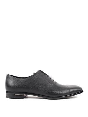 Prada: classic shoes online - Saffiano Oxford shoes