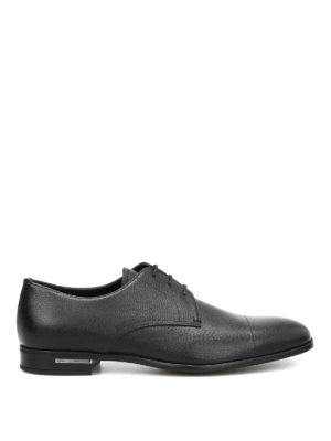 Prada: classic shoes - Saffiano leather Derby shoes