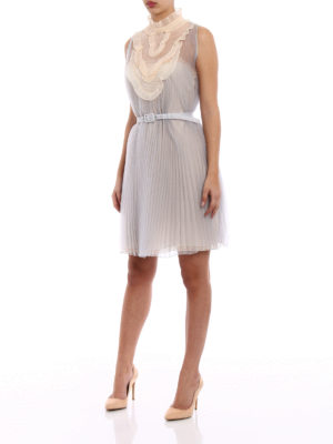 Prada: cocktail dresses online - Pleated Cigaline delicate dress