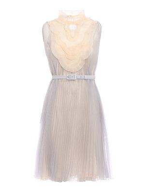 Prada: cocktail dresses - Pleated Cigaline delicate dress