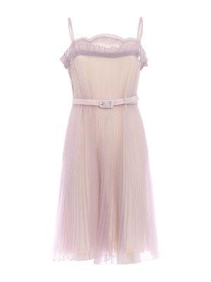 Prada: cocktail dresses - Pleated Cigaline Tec romantic dress