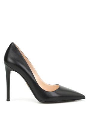 Prada: court shoes - Leather classic pumps
