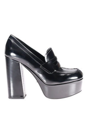 Prada: court shoes - Loafer-inspired court shoes
