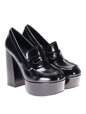 Prada: court shoes online - Loafer-inspired court shoes