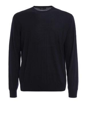 Prada: crew necks - Combed wool crewneck