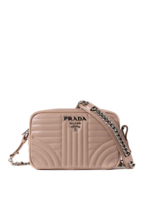 Prada: cross body bags - Diagramme leather bag