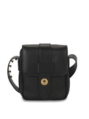Prada: cross body bags - LEATHER CROSS BODY BAG