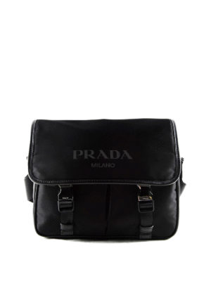 Prada: cross body bags - Nylon and saffiano bag
