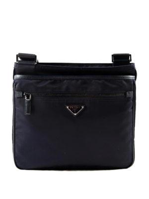 Prada: cross body bags - Nylon and saffiano shoulder bag