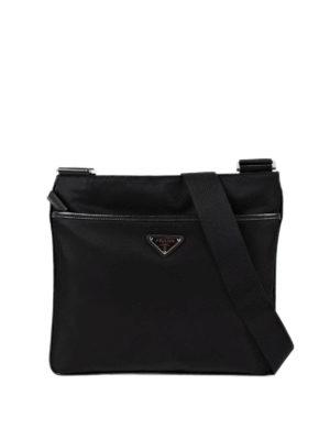 Prada: cross body bags - Nylon cross body bag
