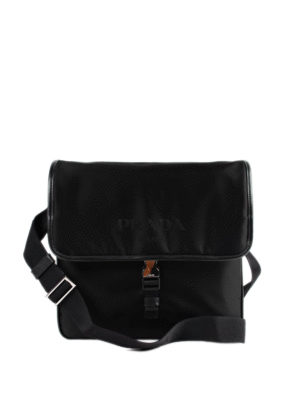 Prada: cross body bags - Nylon cross body bag