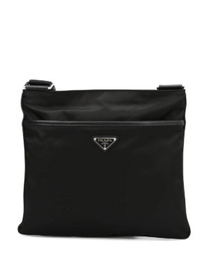 Prada: cross body bags - Nylon flat crossbody